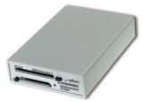 USB-Adapterbox für PCMCIA-Speicherkarten