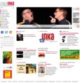 Startseite der neu programmierten INKA-Webseite