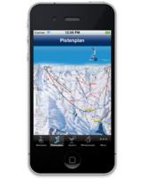 Das Skigebiet von Arosa immer in der Jackentasche dabei: die iPhone-App von ADVERMA.