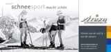 """""""Schneesport macht schön"""": Das erste Motiv der von ADVERMA kreierten Nostalgiekampagne."""