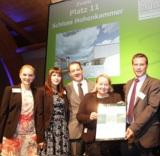 Freude bei der Delegation der Schloss Hohenkammer GmbH für die ehrenvollen Auszeichnungen.