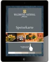 Die Digitale Speisekarte macht Auswahl und Bestellung im Restaurant zum interaktiven Erlebnis.