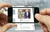 Augmented Reality: Mit einem Smartphone oder einem Tablet-PC wird die Anzeige zum Leben erweckt.