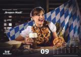 Mit dem Mitarbeiterkalender der Bäckerei Wiesender steht ADVERMA bei PrintStars 2014 im Finale.