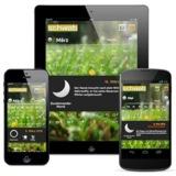 Von ADVERMA für Schwab: die Mondkalender-App für die Rasenpflege.