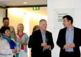 Geschäftsführer Martin Kirsch (rechts) und Ferdl Huber (2. von rechts). Foto: Steuer
