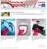 McAfee IT-Security Internetplattform