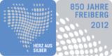 Herz aus Silber - Logo 850 Jahre Freiberg, entwickelt von der Dresdner Agentur cross.media.store