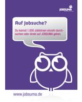 Die fleißige Eule Suma ist ständig auf der Suche nach aktuellen Jobangeboten.