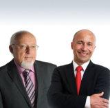 (Walter Kaltenbach und Ralph Guttenberger, die Geschäftsführer von Kaltenbach Training)