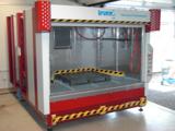 Großraum Reinigunsanlagen zur industriellen Teilereinigung.