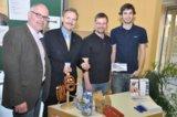Vlnr.:Richard Zumloh (Sport Böckmann),Dr. Krug,René Elsässer, Christopher Schulte(beide Nordbleche)