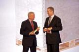 li. Walter Klaus (KLAUS Kunststofftechnik), re. Ralph Wiegmann (iF International Forum Design GmbH)