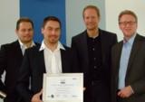 Übergabe der Auszeichnung an SIT-Solutions