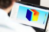 Simulations-Ingenieure analysieren Temperaturverteilung in Windkanälen. Foto: Wenger Engineering