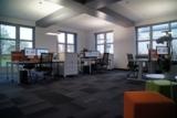 Hell und modern: Das Büro der Accounter ist das Herzstück der neuen Räumlichkeiten der exali GmbH.