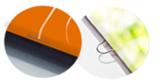 Drahtgeheftete Broschüren drucken mit Rückendrahtheftung oder Ringösenbindung.