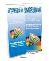Flyerpara.de: L-Banner und Roll-up