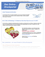 Newsletter von Flyerpara.de
