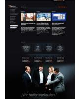 Auf der neuen Website von move:elevator stehen die Kunden und Projekte im Mittelpunkt.