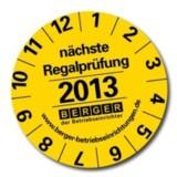 Informationen zur Regalprüfung unter www.berger-regale.de
