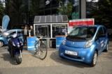SOLARKAUF begleitet Peugeot bei der bundesweiten E-Mobility-Tour 2011. Foto: SGBDDG Frankfurt/Main