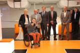 v.l.n.r.: Frau Eckert, Hr. Schmidberger, Hr. Böhringer, Hr. Weinelt, Hr. Schubert und Hr. Steger