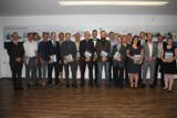 Die Jahrgangsbesten Staatlich geprüften Techniker erhielten einen Buchpreis.
