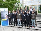 Harald Bencinic konnte die Gäste aus Malaysia bei der Führung über den Eckert-Campus beeindrucken