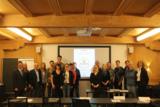 Seminarteilnehmer mit Referenten Karlheinz Kabas (3. v. li.) im neuen Tagungsraum der Eckert Schulen