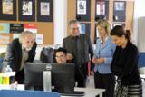 Gottfried Steger,Friedrich Reiner, Bundestagsabgeordnete Dr. Astrid Freudenstein mit Andrea Radlbeck