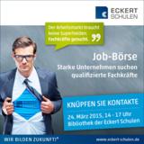 Starke Unternehmen suchen qualifizierte Fachkräfte bei der Jobbörse 15 der Eckert Schulen Regenstauf