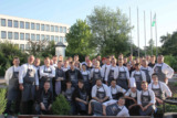 Gruppenbild mit den Organisatoren und Referenten - Jugendcamp der Köche Bayern 2015
