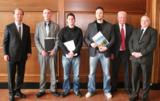 v.l.v. Waldenfels, A. Böhm (1,45), S. Maier (1,18), A. Sczerba (1,38) sowie W. Ebneth und W. Stöber