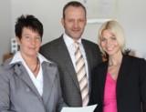 von links: Katrin Grunenberg, Detlef Ochel, Irina Groos