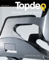 Topdeq mit neuem Katalog und Online-Auftritt: Mit mehr Produkten und vielen Design-Informationen.
