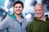 RTL Soap-Star Milos Vukovic und Personal Trainer Jörn Giersberg