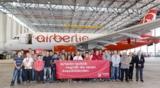 32 neue Auszubildende starten bei der airberlin technik ins Berufsleben