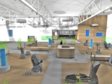 Neue Trainingshalle im POINT ab Mitte November 2012