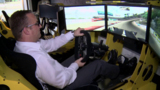 Full-Motion Rennsportsimulator