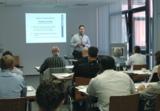 Andreas Schimanski, Mitglied der Geschäftsleitung der Grossenbacher Systeme AG, bei seinem Vortrag