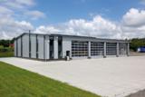 Fahrzeughalle der Husen Stahlbau GmbH & Co. KG