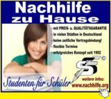 Nachhilfe durch ausgewählte Studenten - www.nachhilfe.org