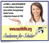 Vorteile der Nachhilfe-Vermittlung STUDENTEN FÜR SCHÜLER (www.nachhilfe.org)