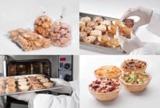 Snacklett Produkt- Bundle: tiefgekühlten TAB in Füllett legen, backen + servieren