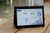 Das Dashboard von Smart Work Control ist auch mobil auf dem Tablet erreichbar