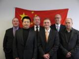 V.l.n.r.: Alexander Wolf, Chengchuan Ni, Dr. Uwe Reinhold, Jochen Brode, Eike Hovermann, Armin Stöhr