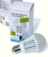 Die Ledera LED-Technik gibt es für die Glühbirne und Neonröhren