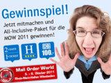 Wir schicken Sie kostenlos zur Mail Order World 2011 - All inclusive!