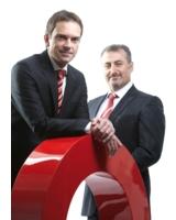 Die Geschäftsführer der inform GmbH Dr. Markus Hilleke (links) und Can Konsul
